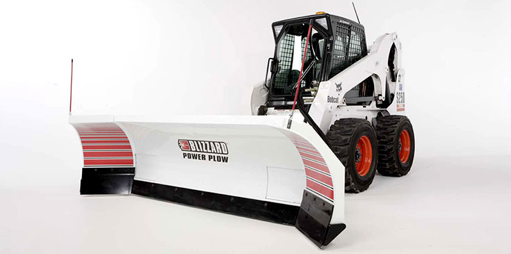 Blizzard Power Plow Skid Steer Loaders