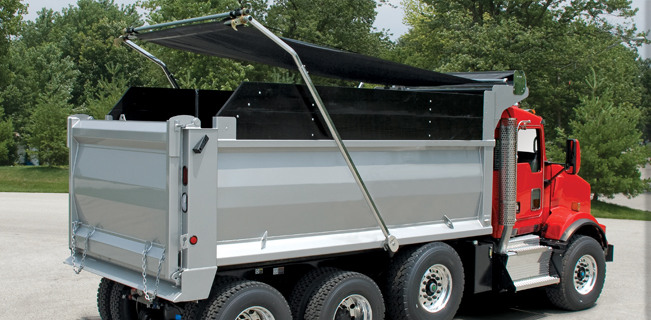 dump tarp systems liners lindco equipment sales