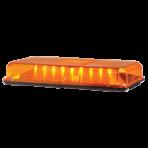Federal Signal 454201-02 Amber Mini Lightbar, Permanent Mount