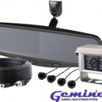 Ecco K4204M Mirror Camera System with Reversing Sensors