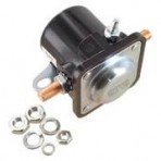 Western 25634 Starter Solenoid – Old Style – Negative to Excite (#412303)